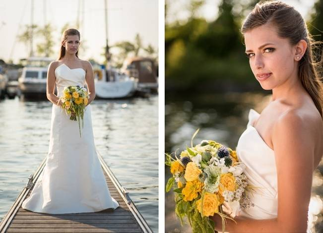 Love Sets Sail Vermont Lakeside Wedding Inspiration 6