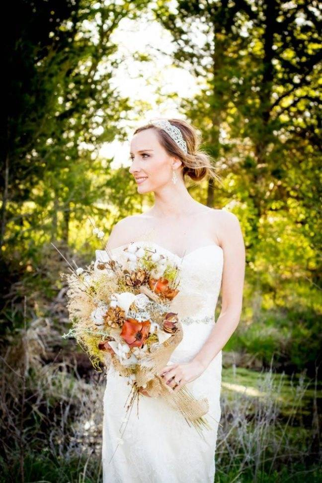 Natural Autumn Bridal Look {C.W. Photography} 1