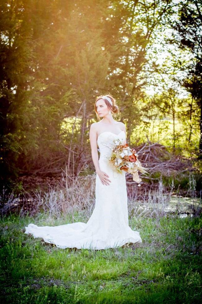 Natural Autumn Bridal Look {C.W. Photography} 4
