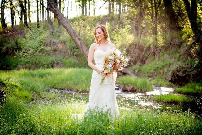 Natural Autumn Bridal Look {C.W. Photography} 9