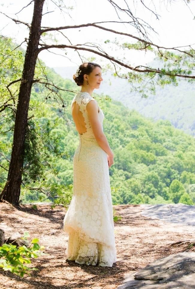 Nature Inspired wedding at Hawk's Nest State Park {Melissa Perella Photography} 7