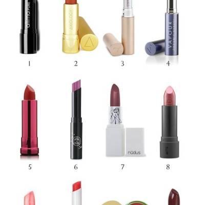 Non-Toxic Kisses – Best Natural Lipsticks