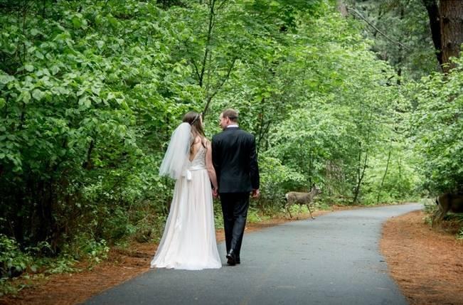 Misty Purple + Green Yosemite Valley Wedding {Duende Photo} 12