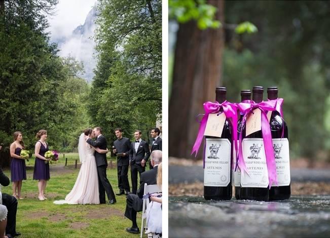 Misty Purple + Green Yosemite Valley Wedding {Duende Photo} 17