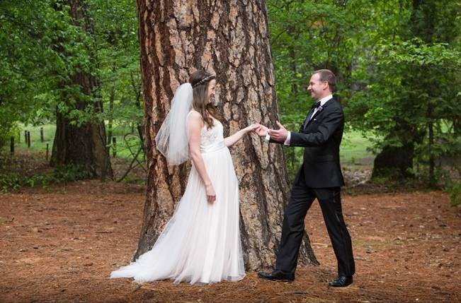 Misty Purple + Green Yosemite Valley Wedding {Duende Photo} 7