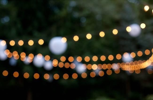Beautiful Outdoor Oregon Wedding Reception at Ron's Pond {Kel Ward Photography} 20