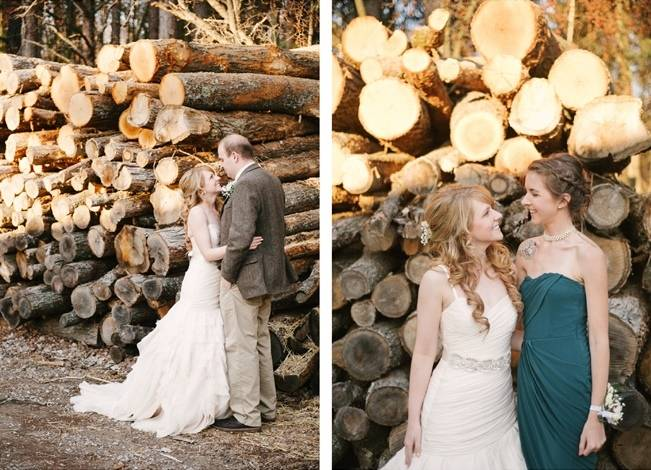 Deer Themed Woodland Wedding {Allie Siarto Photography} 11