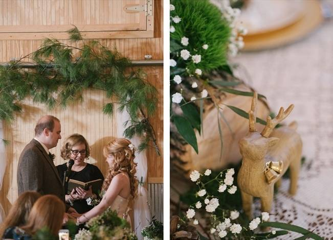 Deer Themed Woodland Wedding {Allie Siarto Photography} 9