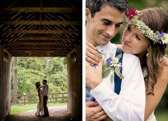 Colorful + Earthy North Carolina Farm Wedding 16