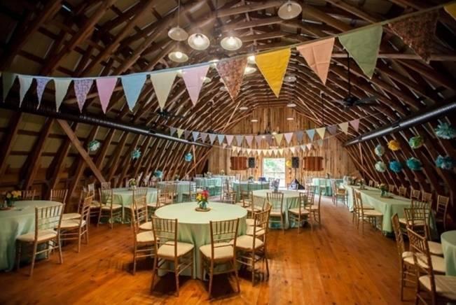 Colorful + Earthy North Carolina Farm Wedding 17