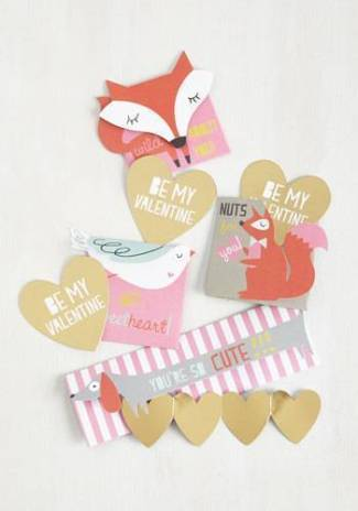 Fauna Fondness Valentine Set