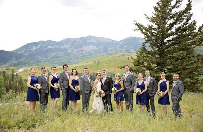 Mountain Chic Destination Wedding at Deer Valley, Utah 16