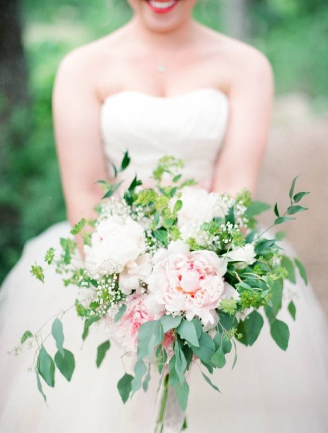 Organic Blush Wedding at The LBJ Wildflower Center in Austin, TX 1