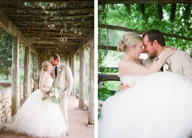 Organic Blush Wedding at The LBJ Wildflower Center in Austin, TX 14