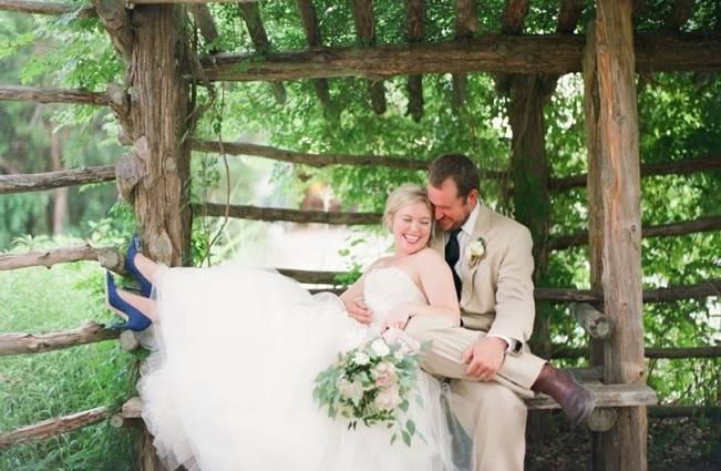 Organic Blush Wedding at The LBJ Wildflower Center in Austin, TX 19