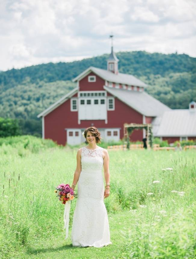 Romantic Vermont Wedding at West Monitor Barn - amy donohue photography 1
