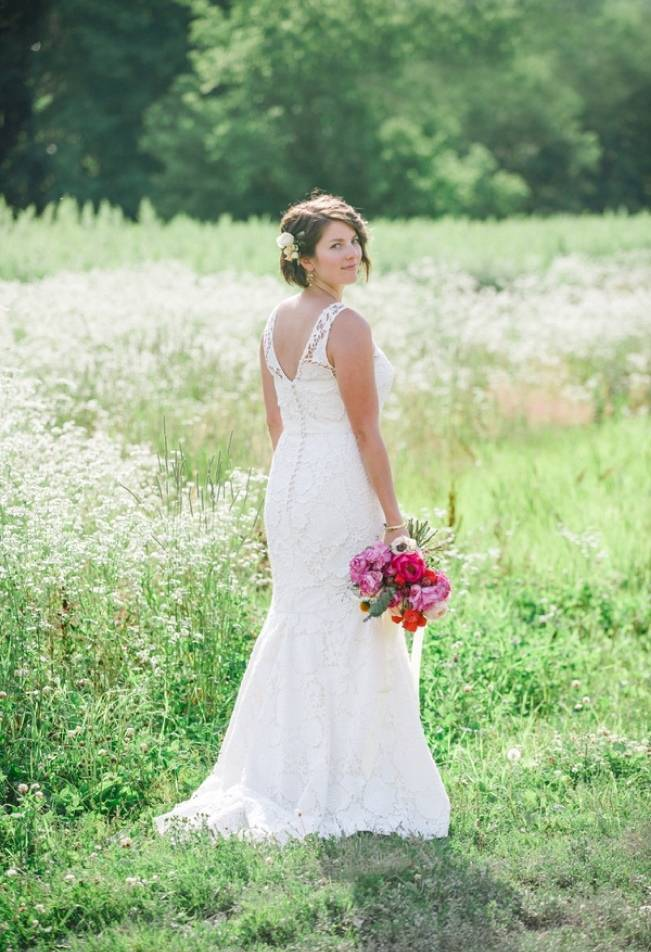 Romantic Vermont Wedding at West Monitor Barn - amy donohue photography 4