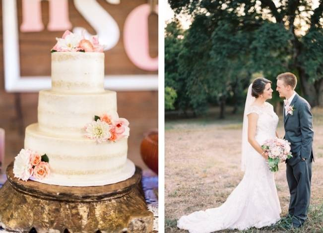 Rustic Chic Texas Barn Wedding - Stephanie Hunter Photography 18