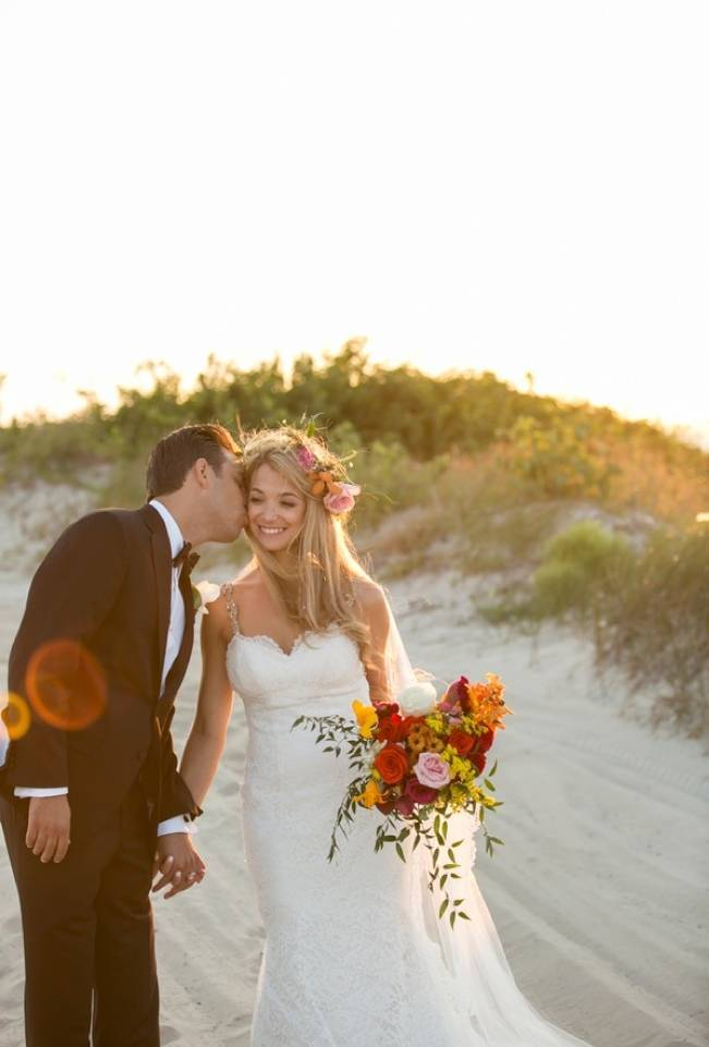 Boho Beach Wedding in Long Island, New York 14