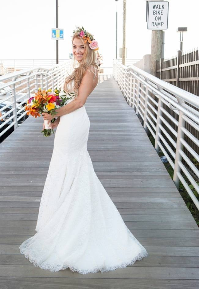 Boho Beach Wedding in Long Island, New York 5