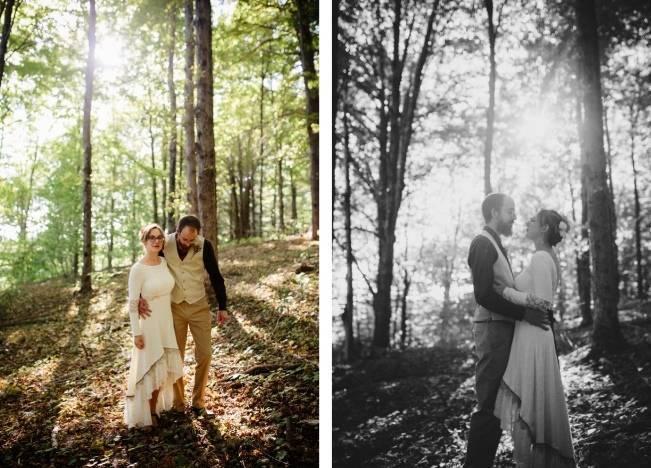 Folksy Supermoon Farm Wedding in Vermont 23