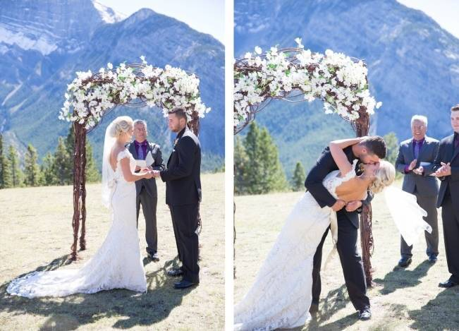 Plum & Nude Rustic Mountain Wedding - Melanie Bennett Photography 17