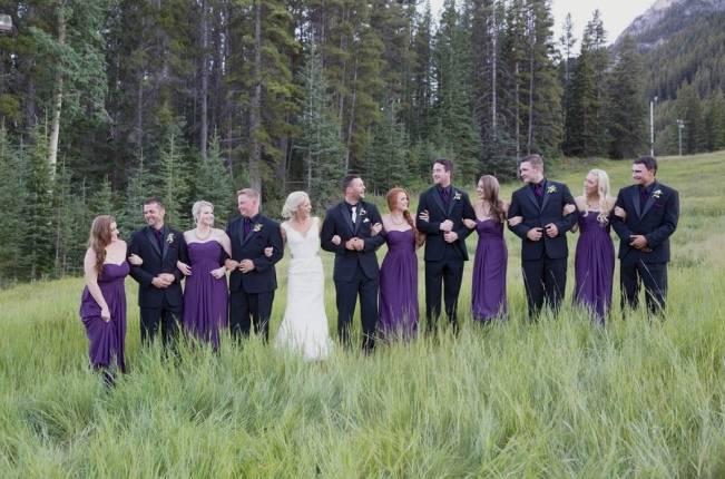 Plum & Nude Rustic Mountain Wedding - Melanie Bennett Photography 20