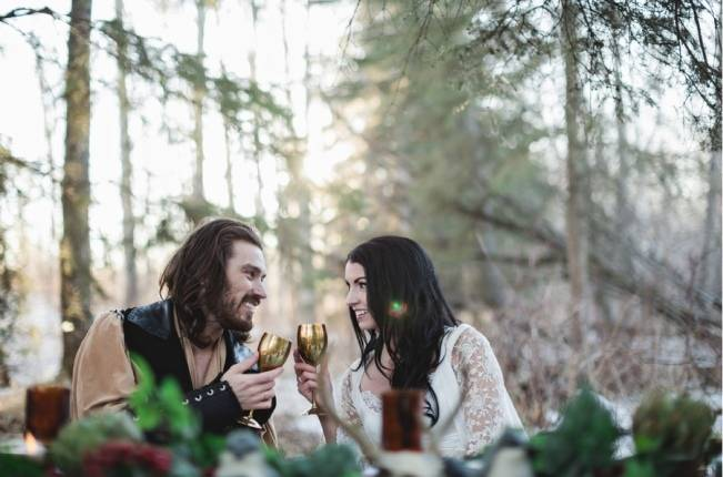 Snow White & The Huntsman Styled Wedding Shoot 11