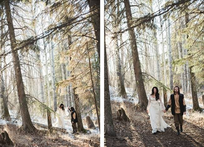 Snow White & The Huntsman Styled Wedding Shoot 18