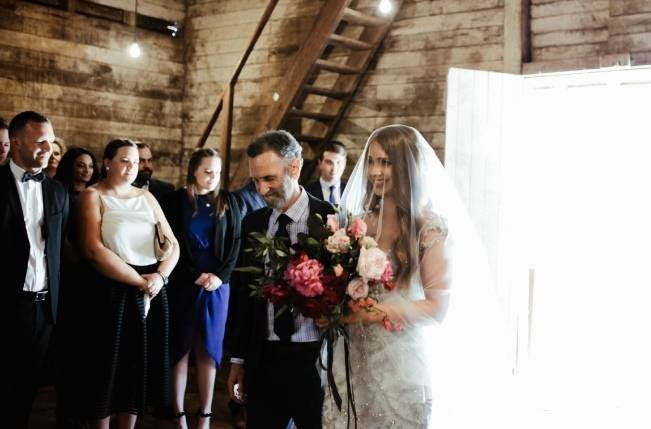 Anna Campbell's Intimate Rustic Wedding 20