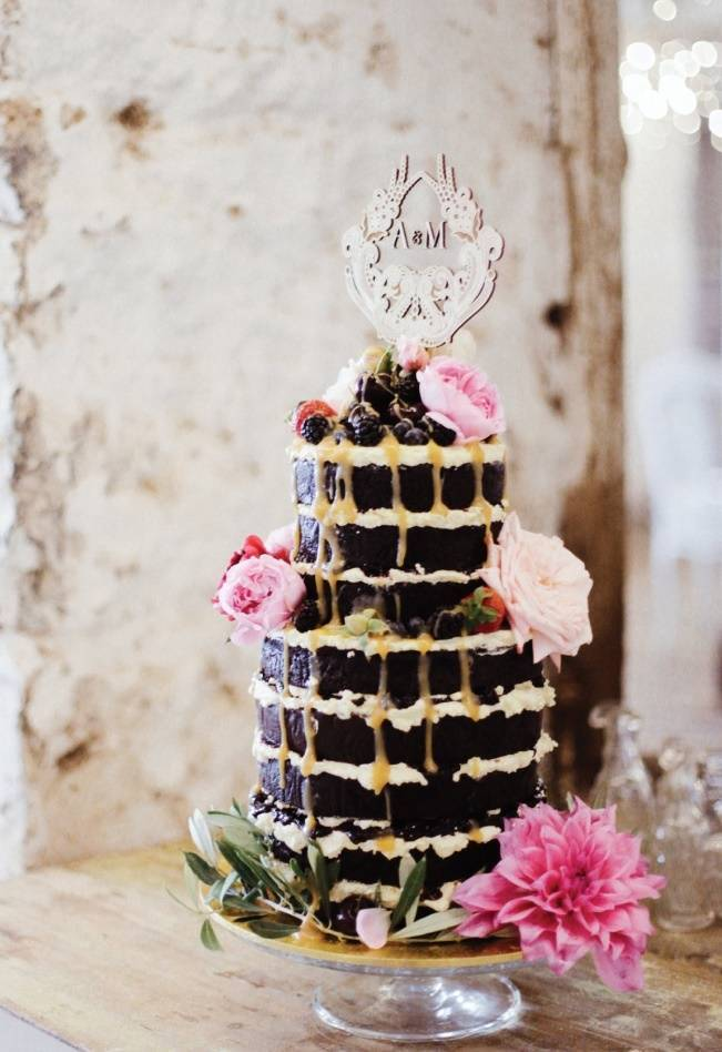Anna Campbell's Intimate Rustic Wedding 29