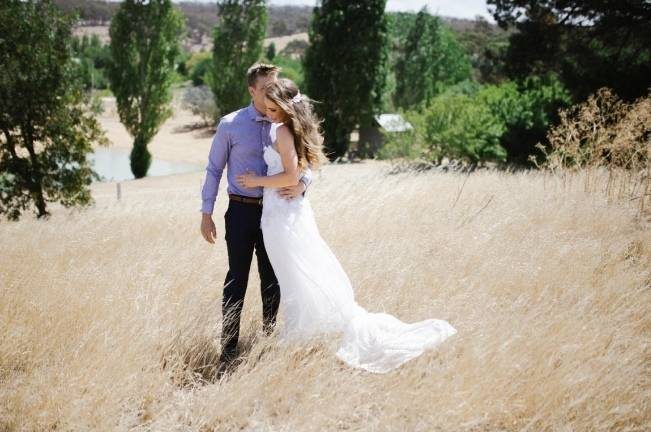 Anna Campbell's Intimate Rustic Wedding 8