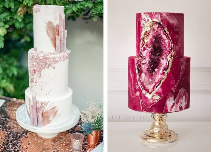 13 Classy Geode Cakes To Rock Your Dessert Table Sweet