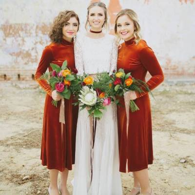14 Ways to Incorporate Velvet in Your Wedding
