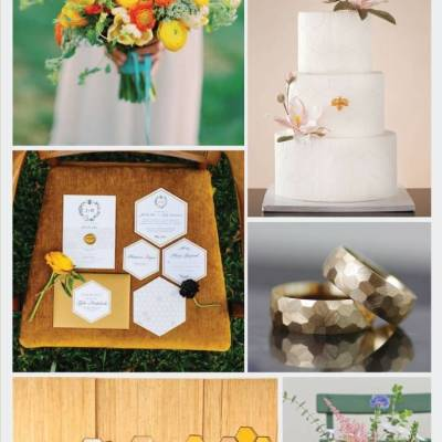 Wedding Inspiration Board #33: Honeycomb