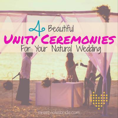 4 Beautiful Unity Ceremonies For Your Natural Wedding