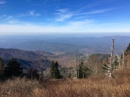 Appalachian Trail - view of Tennessee