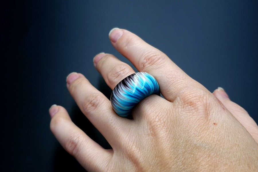 Blue Flame Ring 03