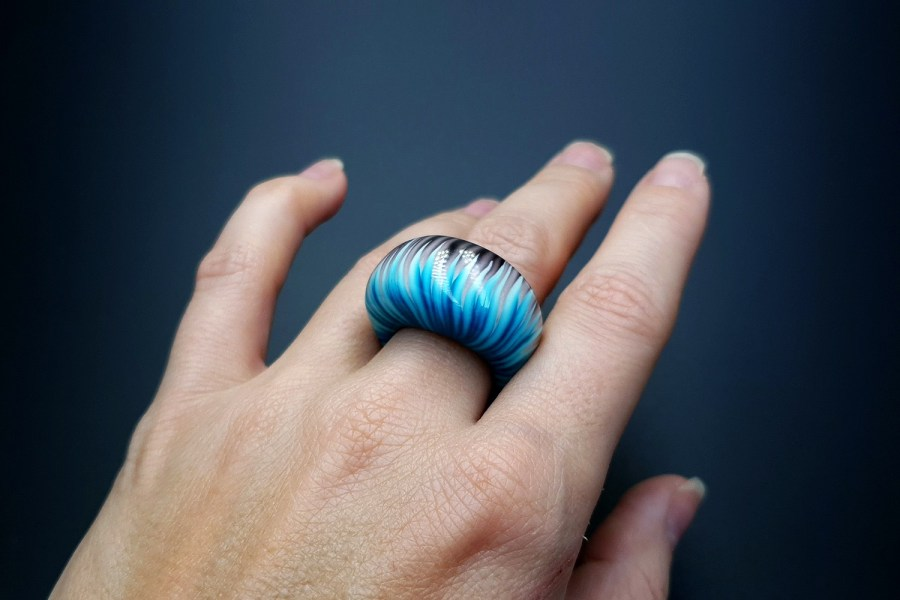 Blue Flame Ring 05