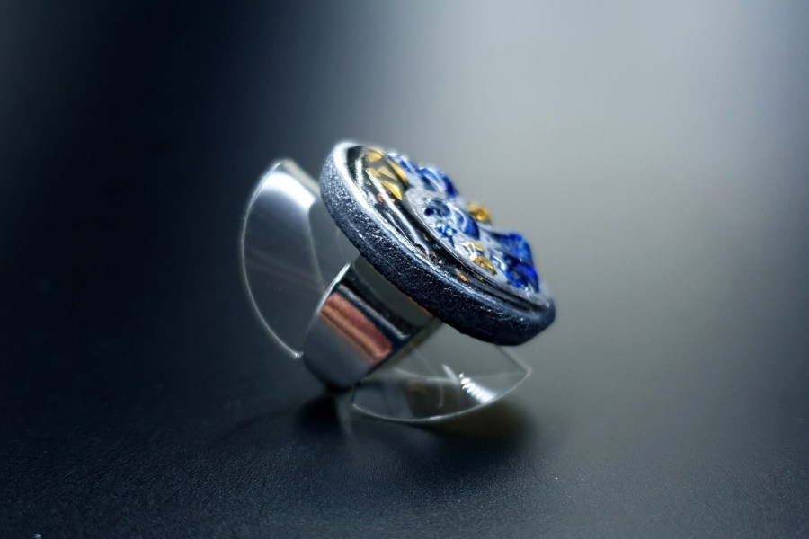 Fossilized Treasure Ring 04