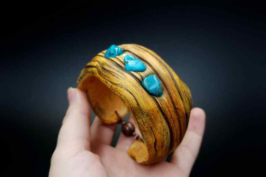 Product Drift Wood Bracelet Cuff 07