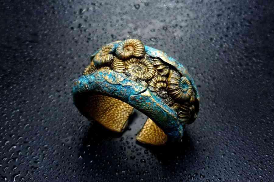 Product Fossilized Treasure Bracelet Cuff 10