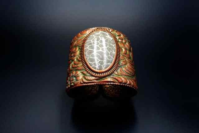 Product Petoskey Stone Bracelet Cuff 01