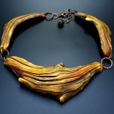 """""""River Wood"""" Necklace"""