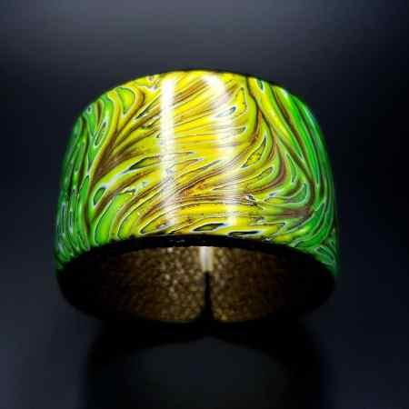 Tropical Bracelet Cuff