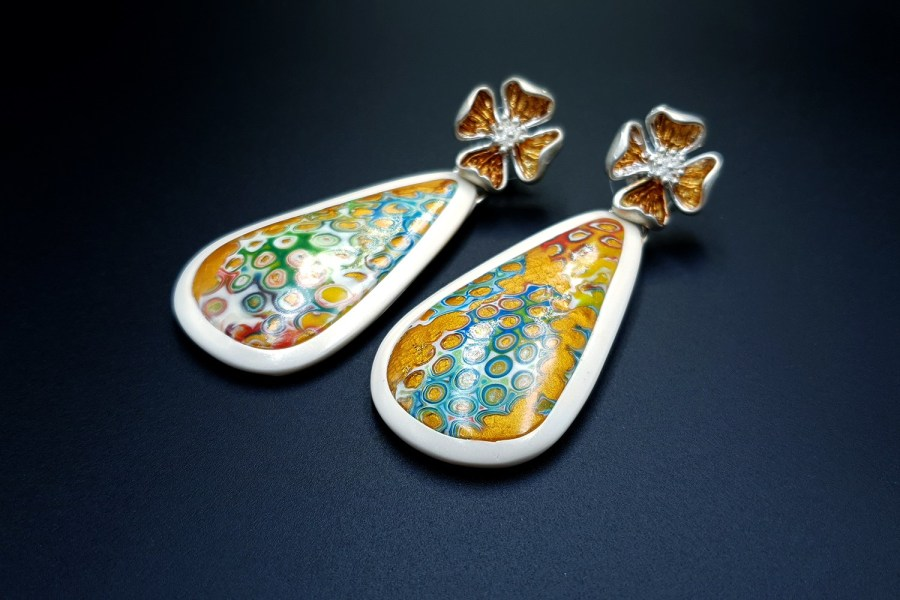 Royal Gold Earrings 06