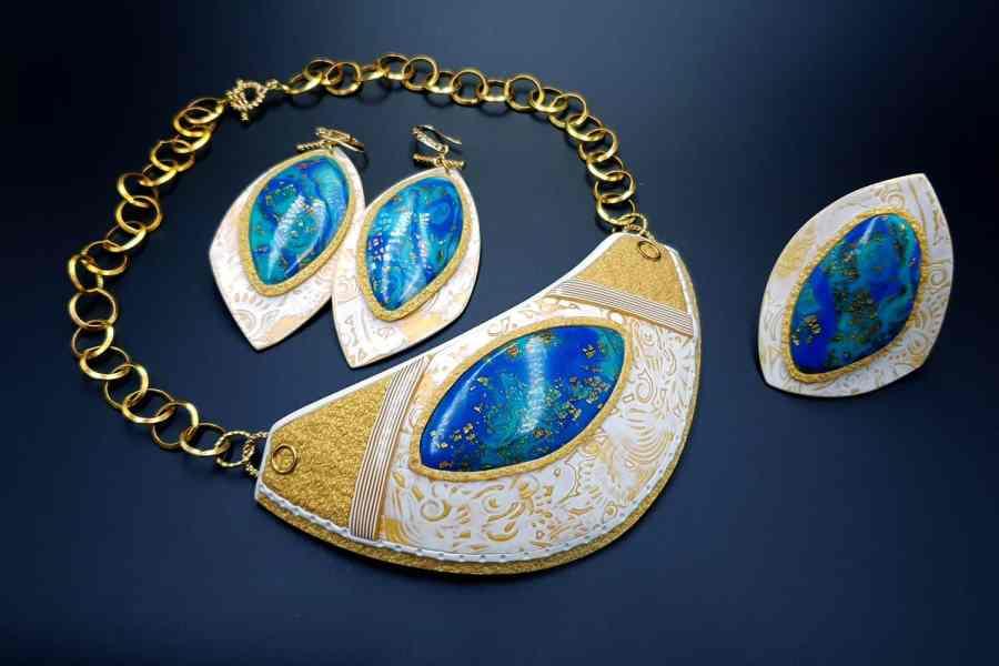 Windows Into the Ocean Jewelry set 02