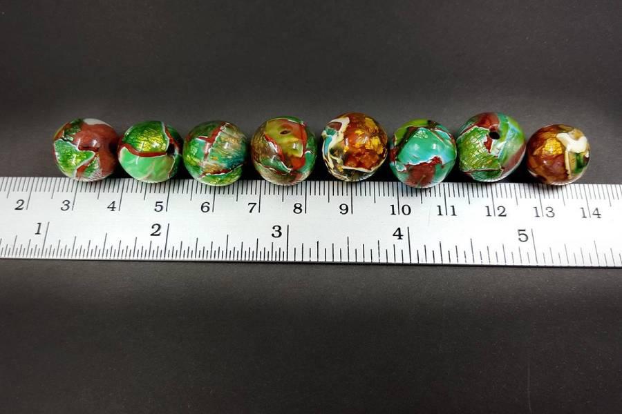 8 pcs Jade Beads p08
