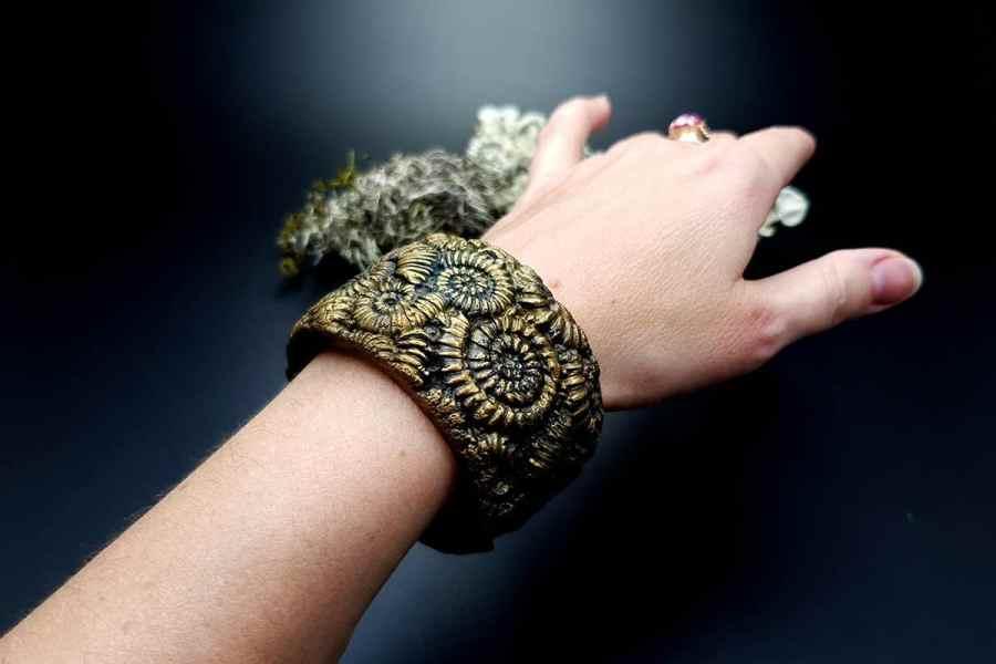 Bracelet Cuff Ammonites img10