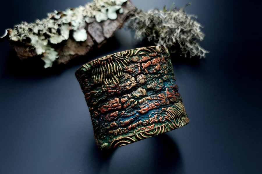 Bracelet Cuff Forest Treasure 20191012_134400
